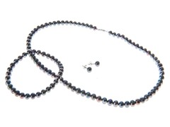 Sterling Silver Freshwater Pearl Set