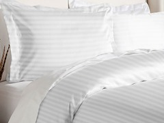 Duvet Cover Set-White-3 Sizes