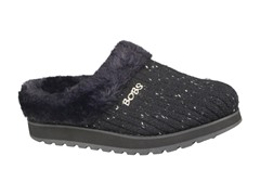 Skechers Women's Bobs Puffers, Black (6)