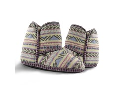 MUK LUKS®Women's Knit Slipper Boot, Pink