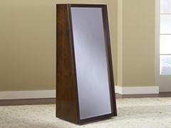 Legend Wood Bookcase Back Floor Mirror