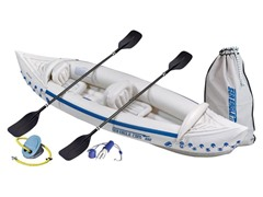 Sea Eagle SE330DLX 330 Deluxe Inflatable Kayak Bundle