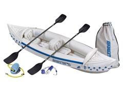 Sea Eagle 330 Deluxe Inflatable Kayak Bundle