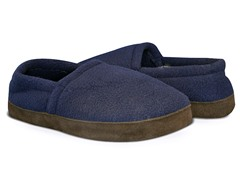 Men's Fleece Espadrille, Navy