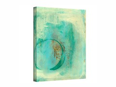 Teal Enso - Wrapped Canvas (3 Sizes)