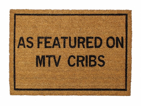 Clever doormats as featured on mtv cribs - Clever doormats ...