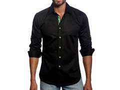 Jared Lang Dress Shirt, Black