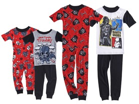 Star Wars 4-Piece Cotton PJ Set (2T-10)