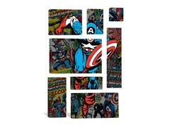 Captain America Covers Collage