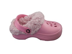 Baby Ultrasoft Fleece Dawgs - Pink/Pink