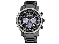 Diamond-Accented Chronograph