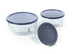 Pyrex 6pc Round Storage Set