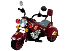 Maroon - Road Warrior Motorcycle