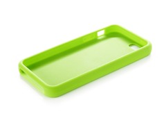 Green Silicone Case for iPhone 5