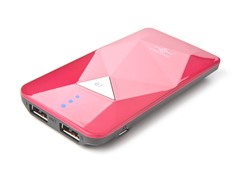 Power Gem 3500 Power Bank - Pink