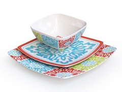 Sweet Things Capri 12-Piece Dinnerware