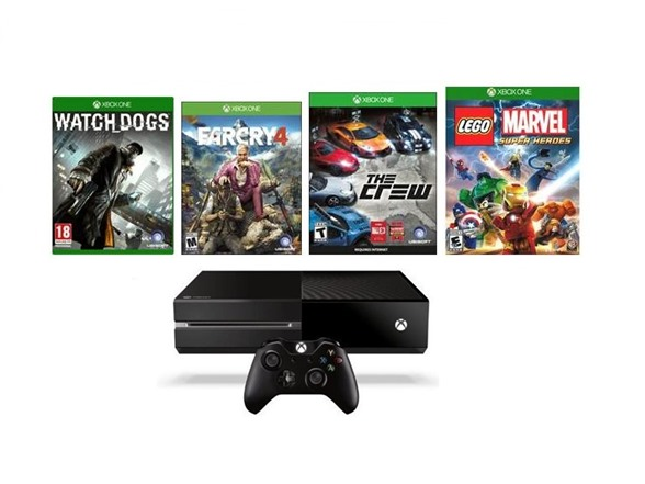 Xbox One 1TB Gaming Console Bundle