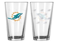 Dolphins Pint Glass 2-Pack