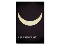 Alice in Wonderland - 2 Sizes
