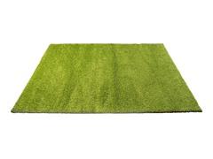 7' x 10' Green Shag Rug