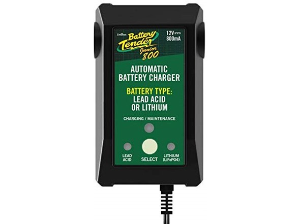 Battery Tender 12-Volt Selectable Lead-Acid and Lithium Battery Charger