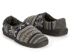 MUK LUKS® Fairisle Slipper Blue-Mens