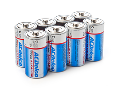 C Alkaline Batteries 8-Pack