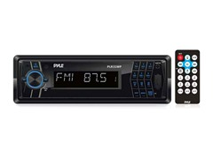 AM/FM-MPX In-Dash Detachable Face Radio