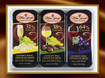 Wine Lovers Chocolate 3-packs