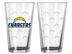 Chargers Pint Glass 2-Pack