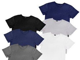 Men's or Women's 6-Pack Short Sleeve T-Shirts