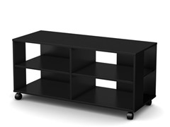 South Shore Jambory TV Stand/Storage Black
