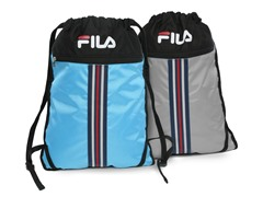 Light Blue & Grey X2 Sackpacks (2-Pack)