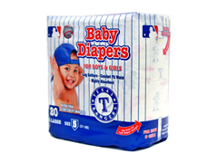 Texas Rangers Disposable Diapers