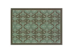 Monte Carlo Green Rug -7 Sizes