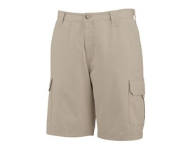 "Burke 10"" Cotton Twill Shorts, Khaki"