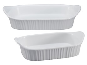 CorningWare French White 2 pc Set