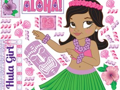 Luau Girl Combo Party Sets