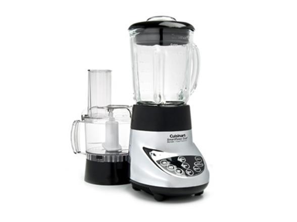 Cuisinart chrome smartpower duet blender food processor - Cuisinart home cuisine ...