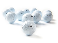 Nike One Platinum Golf Balls, 12-pk