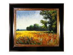 Monet - Oat Fields