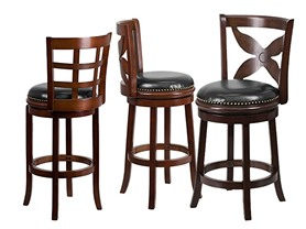 Bar and Counter Stools-2 Styles, 2 Colors