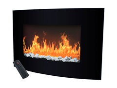 Warm House Balmoral Electric Fireplace Heater with Remote