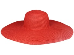 Straw Hat, Red