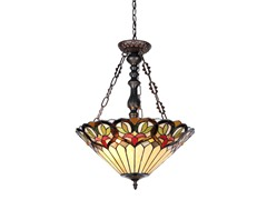 Victorian 2-Light Inverted Pendant