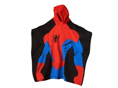 Spiderman Hooded Poncho - Youth