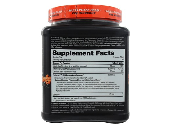 Performix ION Multi-Phase Release Pre-Workout