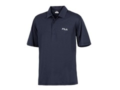 Fila Men's Heathered Polo - Navy (Small)