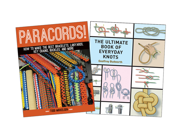 2pk Books Knots And Paracord