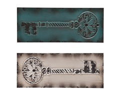 Key 2pc Decorative Wall Panel Set